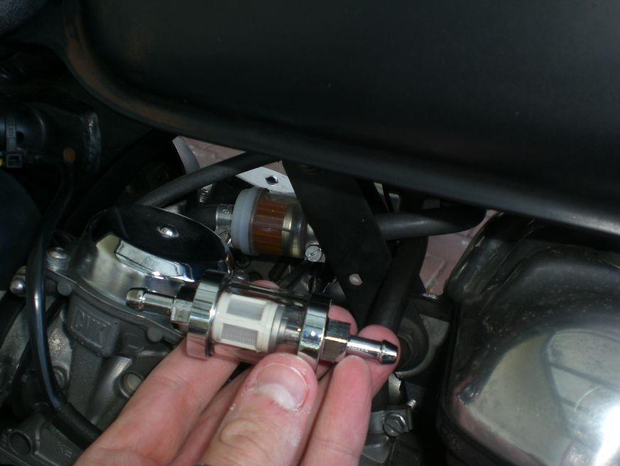 montage filtre  essence